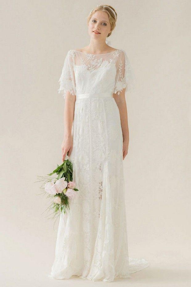 20 Unique & Dreamy Wedding Dresses - Rue de seine Poppy - gown alternative modern bohemian wedding dress