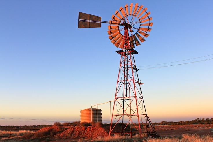Windmill Western Queensland - prints and downloads available