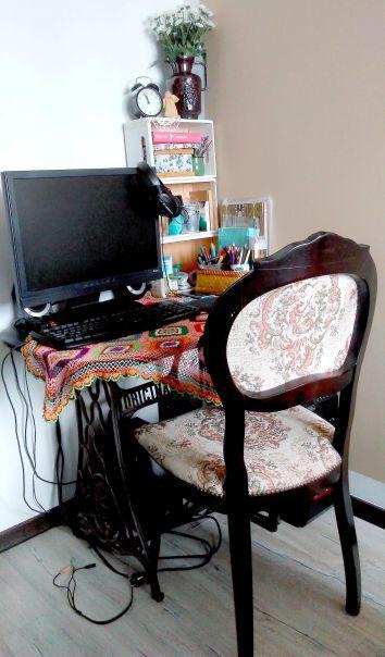 my mini home office