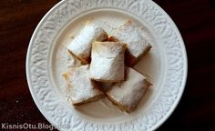 Kişniş Otu: BAKLAVA YUFKASINDAN CEVİZLİ TAHİNLİ RULO ÇÖREK Walnut muffins with tahini rolls