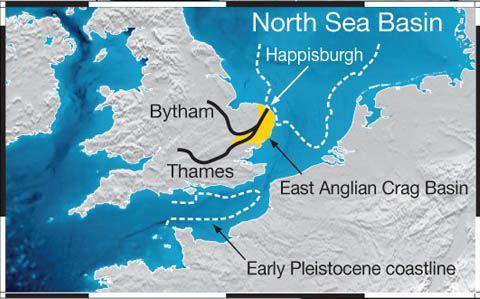 Thams coming to sea at Happisburgh!