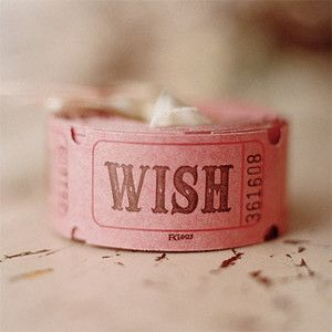 ticket: Gift, Inspiration, Make A Wish, Ticket, Cute Ideas, Birthday Wish, Parties Favors, Pink Rose, Wedding Theme