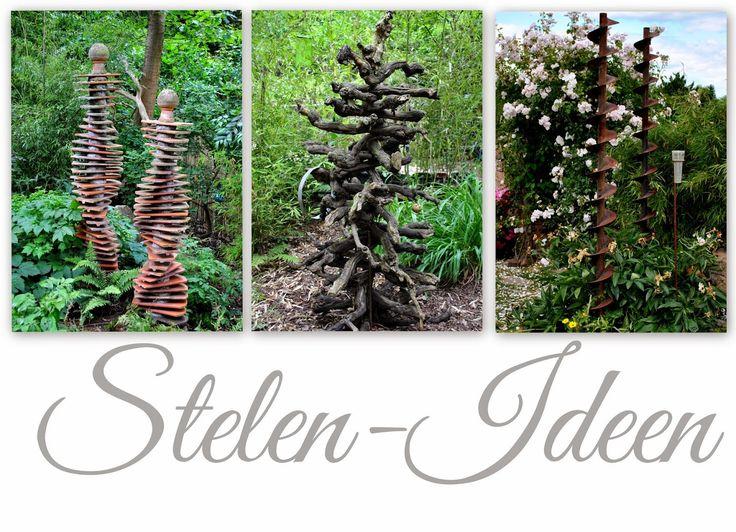 78 besten Stelen ~ Gartenstelen Bilder auf Pinterest Totempfähle - gartendekoration aus holz
