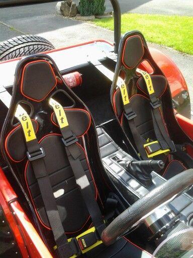 New jk composite seats in my Tiger Cat E1