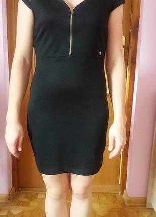 Sukienka czarna Cropp