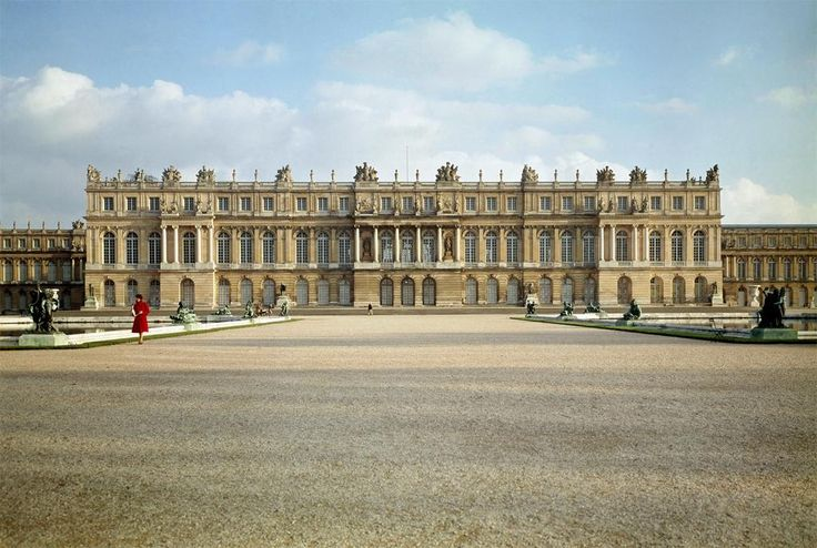garden facade 93 the palace at versailles versailles france louis le vau and jules hardouin. Black Bedroom Furniture Sets. Home Design Ideas