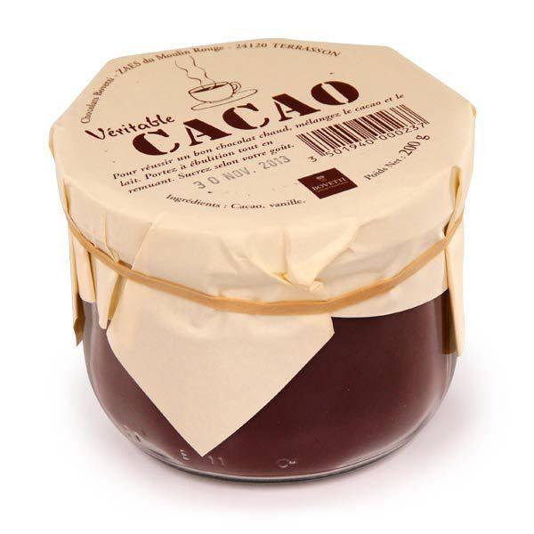 bovetti chocolat   Véritable poudre de cacao - Bovetti chocolats - BienManger.com