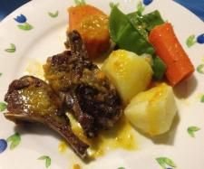 Lamb Cutlets with Veggies & Gravy cooked in the Varoma!! | Official Thermomix Recipe Community