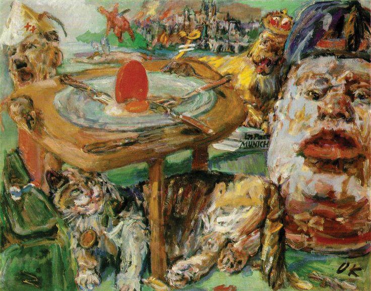 The red egg, Oskar Kokoschka, 1941