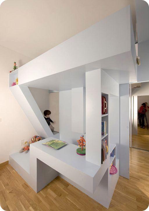 Mueble multiuso y separador de ambientes