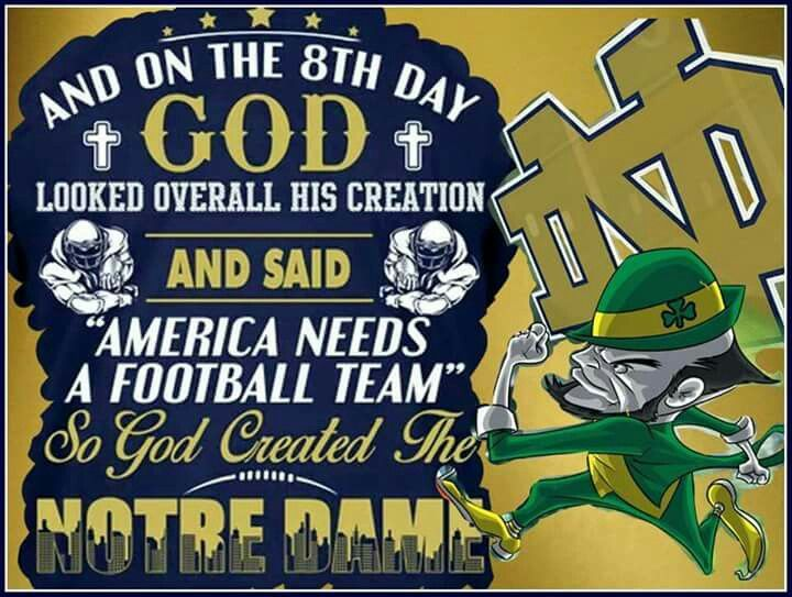 32 Best Notre Dame Quotes Signs Flags And More Images