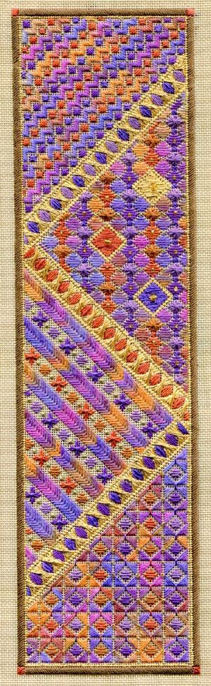 Autumn panel sampler by Laura Perin