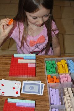 Math U See Race to 100 Game with addition