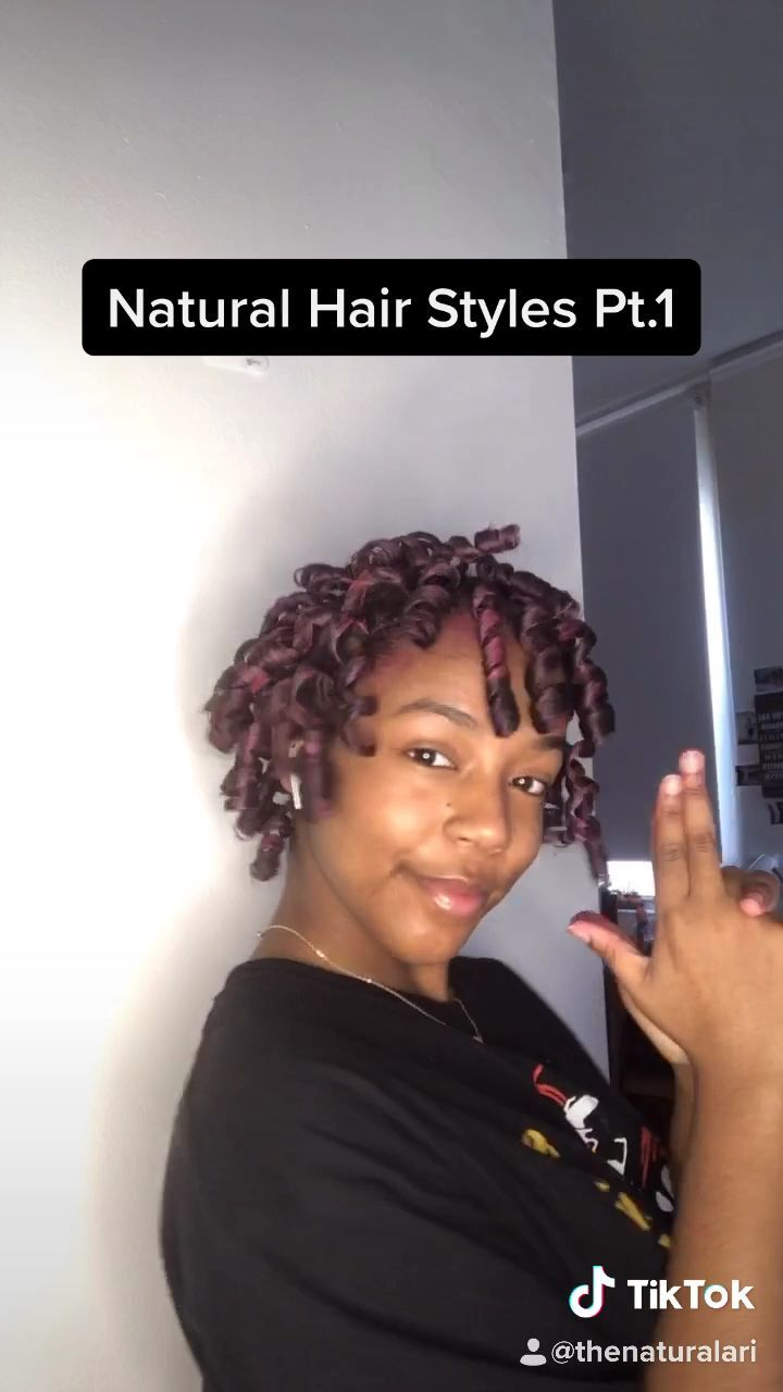 Tik Tok 1 Natural Hair Style Natural Hair Naturalhairstyles Hairpaintwax Hairstyleideas Curlybo In 2020 Natural Hair Styles Curly Hair Tips Curly Hair Styles