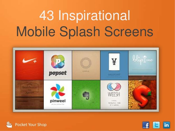 You Only Get One Chance To Make A First Impression, Make It Count. Weu0027ve  Compiled 43 Examples Of Genius Splash Screen Design To Inspire Your Own.