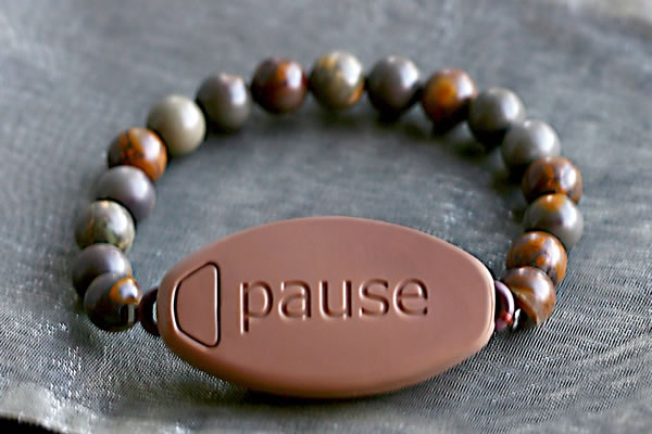 A Meaning to Pause Bracelet.... reminds you to take time out of your day to remember whats really important