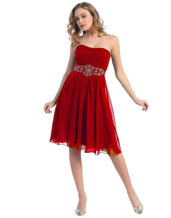 bridesmade dresses short in pink or red by jordan | cute red plus size prom dresses 2013 cheap under 100 junior prom
