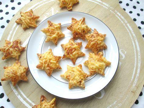Makkelijk kerst hapje - Kaas sterren