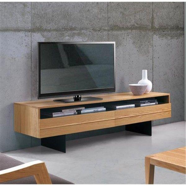 The Horizon 2 door TV bench from Oliver B. Casa - http://iconafurniture.co.uk/entertainment-units/811-horizon-2-door-tv-bench.html#.VEj34KNwaM8