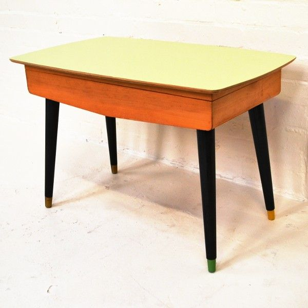 Vintage Atomic Legged Storage Coffee Table