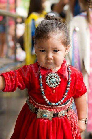 Santa Fe Indian Market 2012 ... what a doll!