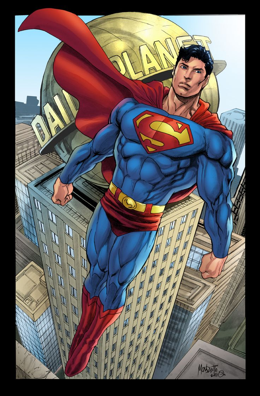 superman comic | Superman // artwork by Gilberto Monsanto and Omi Remalente Jr. (2011 ...