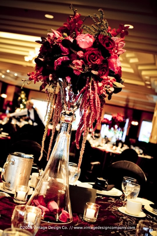 Best images about red centerpieces on pinterest