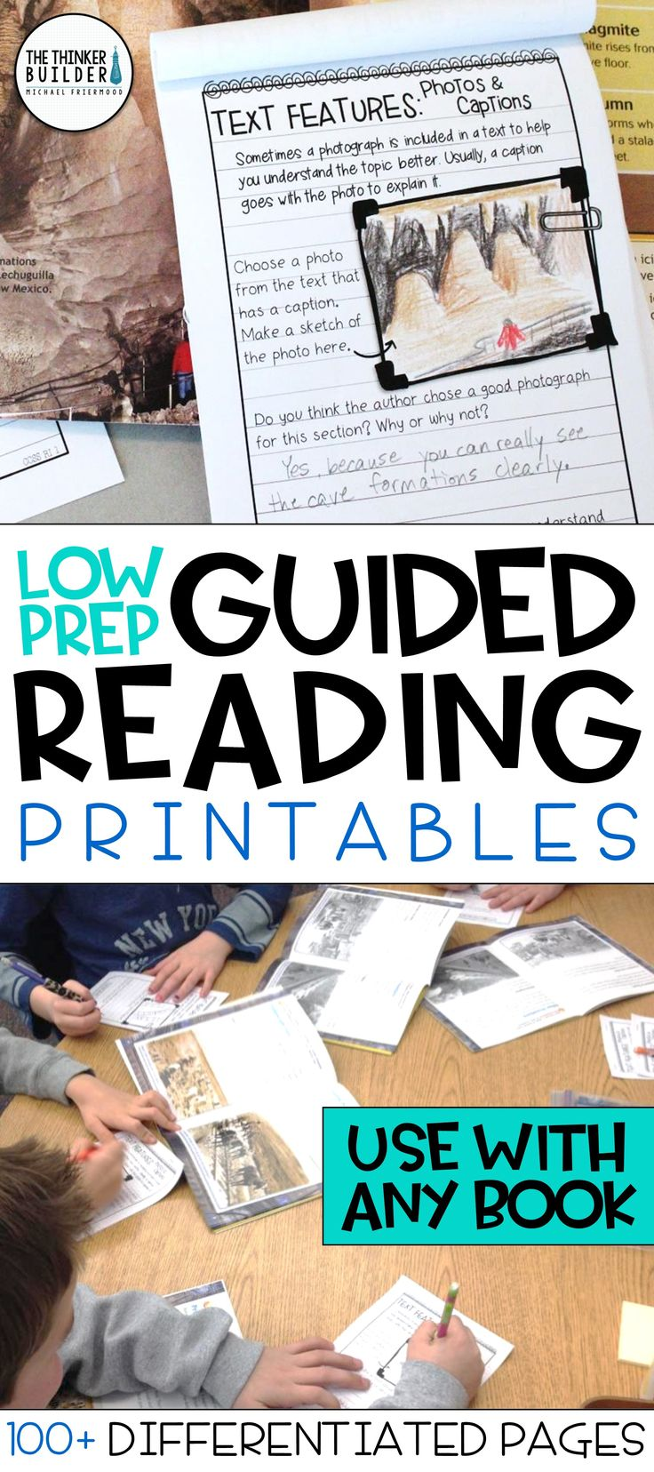 A huge collection of reading response pages, differentiated at three levels, with tons of options for both fiction and nonfiction. Perfect for guided reading, book clubs, and practicing key reading skills. (Gr 2-5) $