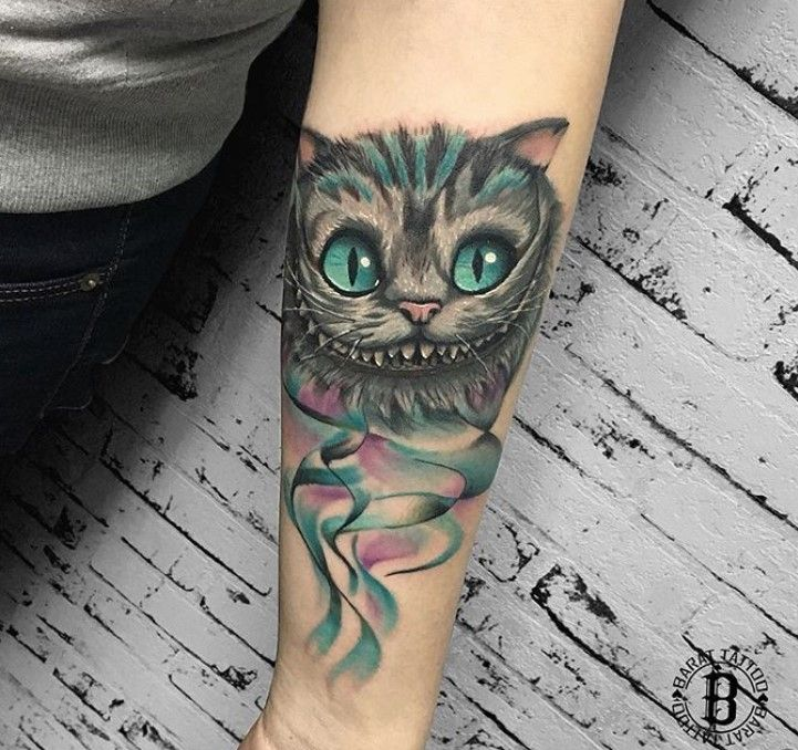50 Best Cheshire Cat Tattoo Designs Cat Tattoo Designs Cheshire Cat Tattoo Tattoos