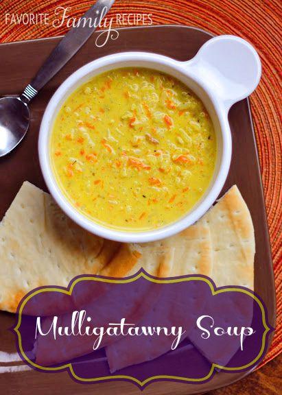 Mulligatawny Soup   Recipe   Mulligatawny, White rice and ...