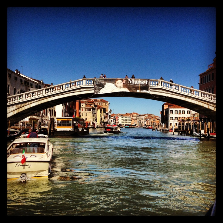 Grand Canal By water taxi