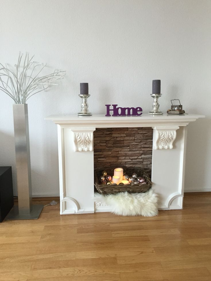 kaminattrappe gebaut aus einem billy regal ikea hack kamine pinterest sei nett tapeten. Black Bedroom Furniture Sets. Home Design Ideas