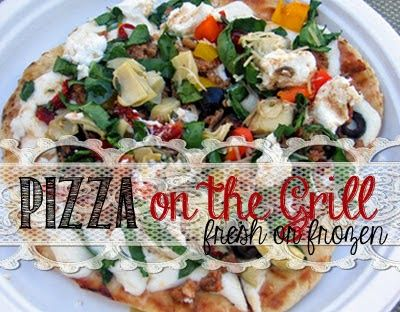 Did you know that you can enjoy pizza in the heat of summer without turning on your oven? Yes you can! You can grill it and this is how to do it.