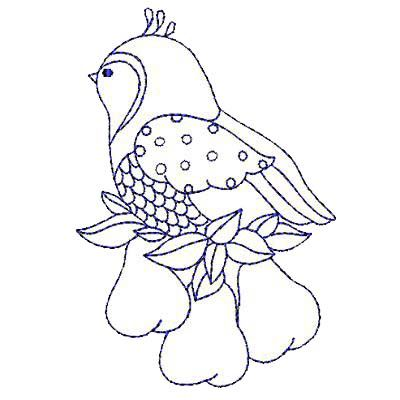A partridge in a pear tree to embroider | needleart ...