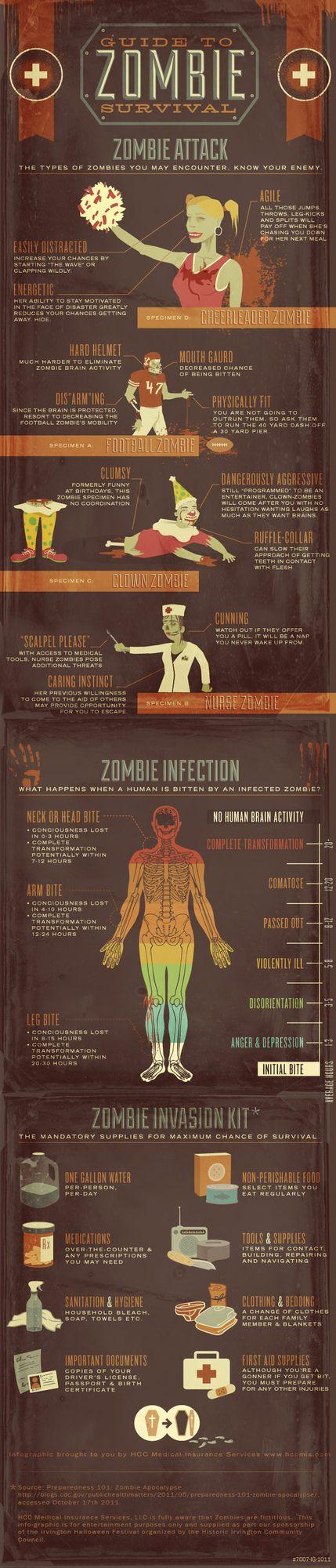 MinuteBuzz - Le guide ultime de survie en cas d'attaque de zombies