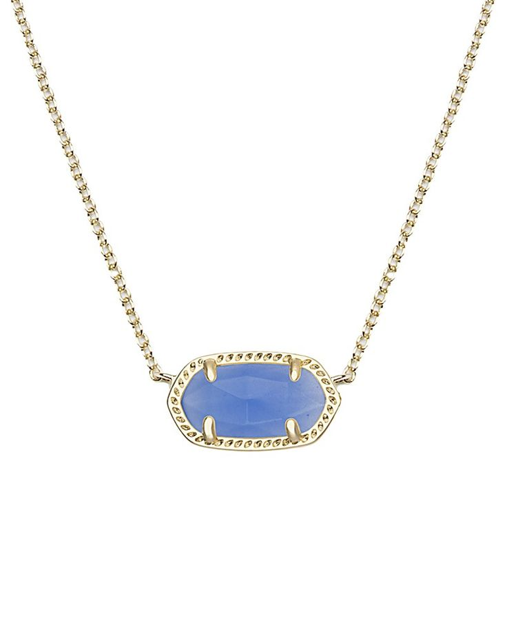Elisa Pendant Necklace in Periwinkle - Kendra Scott Jewelry