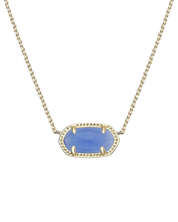 Elisa Pendant Necklace in Periwinkle - Kendra Scott Jewelry