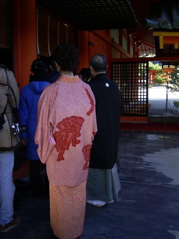 At Heian Jingu, New Year. Kyoto (photo AN)