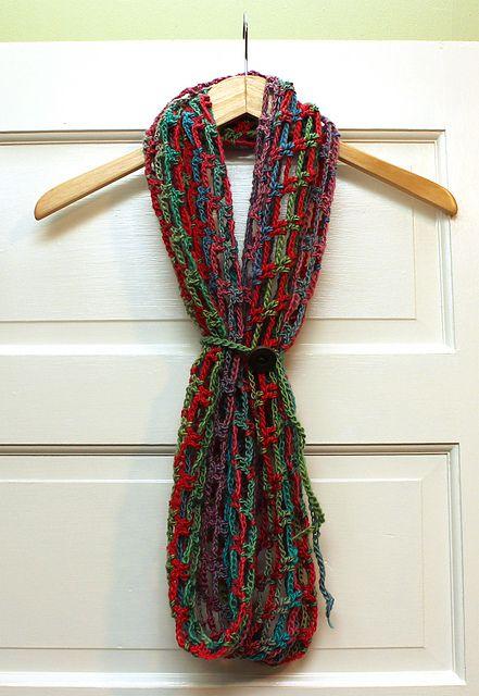 Ravelry: Artfully Simple Infinity Scarf pattern by Tamara Kelly