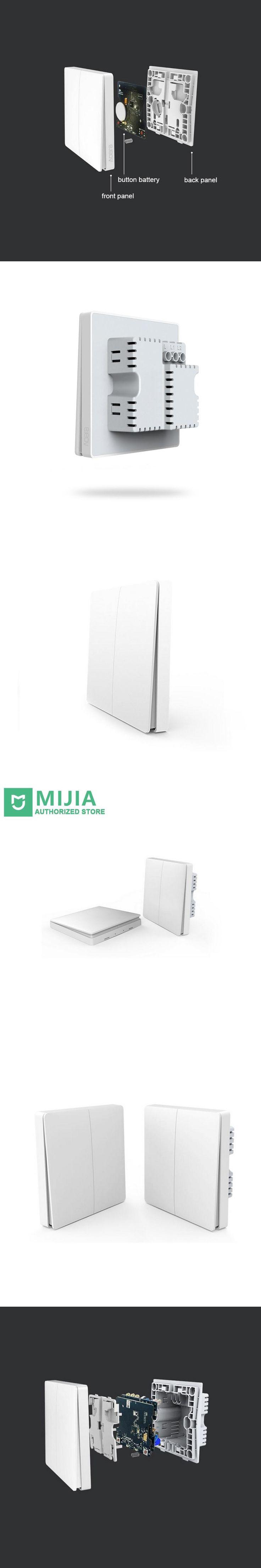 Xiaomi Aqara Smart Home Smart Light Control ZiGBee Wireless Key and Wall Switch Via Smarphone APP Remote By Mijia APP