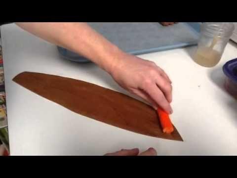 How to make gumpaste cigars for cigar box cakes