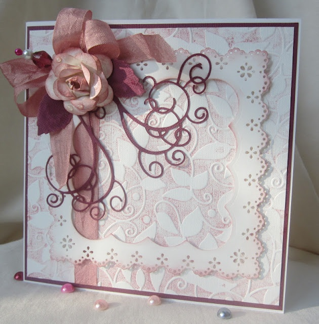 Lovely rosesScrapbook Cards, Cards Floral Ros, Cards Ideas, Rose Cards, Crafts Cards, Cards Scrapbook, Floral Fantasy, Paper Crafts, Floral Cards
