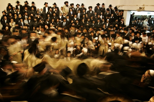 "Fascinating shot by Gil Cohen Magen from his book ""Hassidic Courts"""