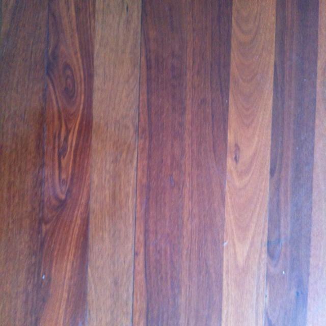 My existing Jarrah floor