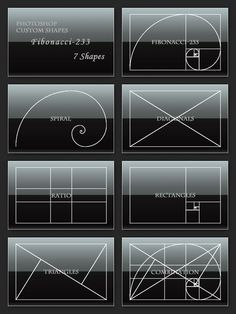 This website describes the different between The Golden Section The Golden String and Fibonacci Numbers. These all essentially come together to form the same Golden Ratio but help me understand the breakdown of it all and why its so important.