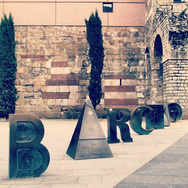 The gothic quarter in Barcelona is one of the barrios you must check out.  #Barcelona #barrios