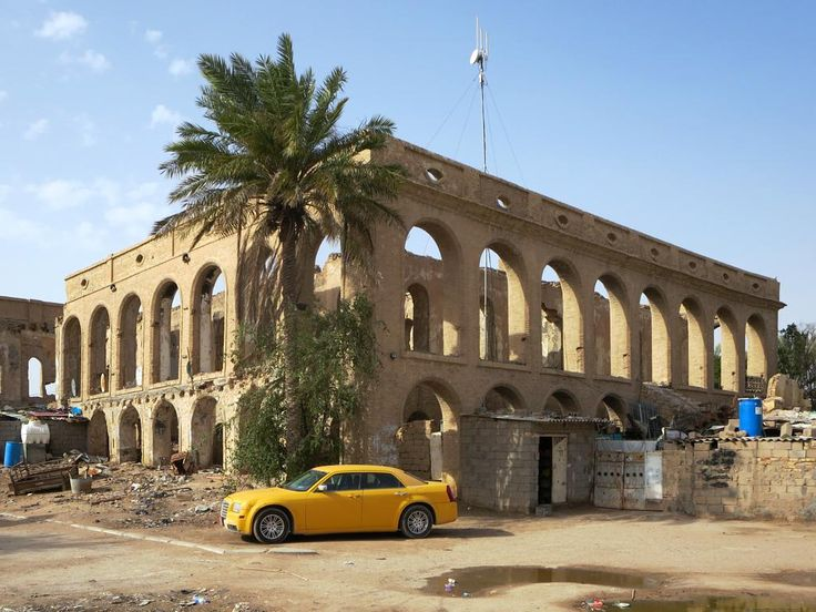 The Natural History Museum in Basra, Iraq, formerly occupied the old British consulate building erected in 1903. After the fall of Saddam Hussein in 2003 the museum was torched by local looters and remains in ruins today.