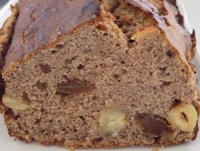 Ma petite cuisine gourmande sans gluten ni lactose: Banana bread à la farine de châtaigne, aux fruits secs et au miel sans gluten et sans lactose...