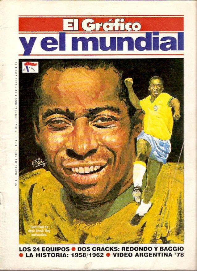 SOCCER WORLD CUP 1958/62 GREAT Magazine PELE  | eBay