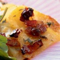 Golden Potato Gratin - Bon Appétit | Recipes - Fall / Pumpkin | Pinte ...